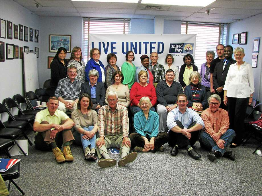 VITA volunteers and supporters were recognized April 21 for their service to the 2014 tax season by the Middlesex United Way in Middletown. Photo: Submitted Photo