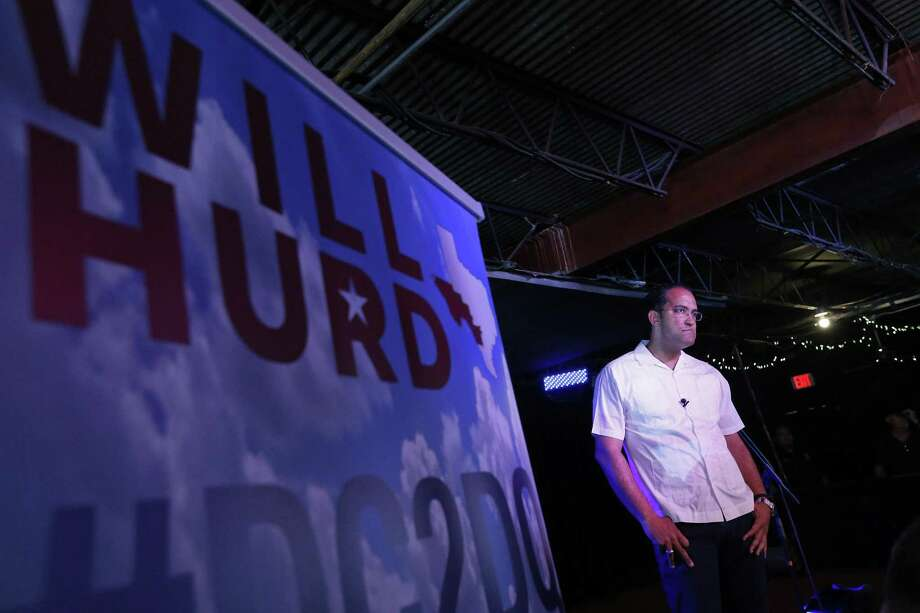 U.S. Rep. Will Hurd, R-Helotes, listens to questions from the audience during the final stop on his third annual DC2DQ town hall meetings held Saturday Aug. 12, 2017 at John T. Floore's Country Store. Photo: Edward A. Ornelas, Staff / San Antonio Express-News / © 2017 San Antonio Express-News