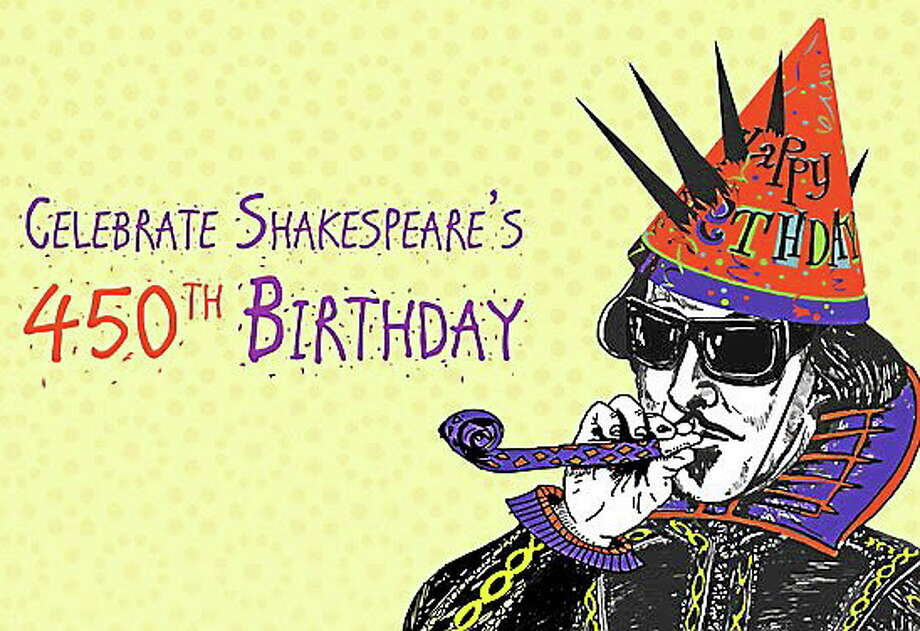 Courtesy Artfarm The 5th Shakespeare Slam and Elizabethan Birthday Bash is May 10 at the Community Health Center in Middletown. Photo: Journal Register Co.