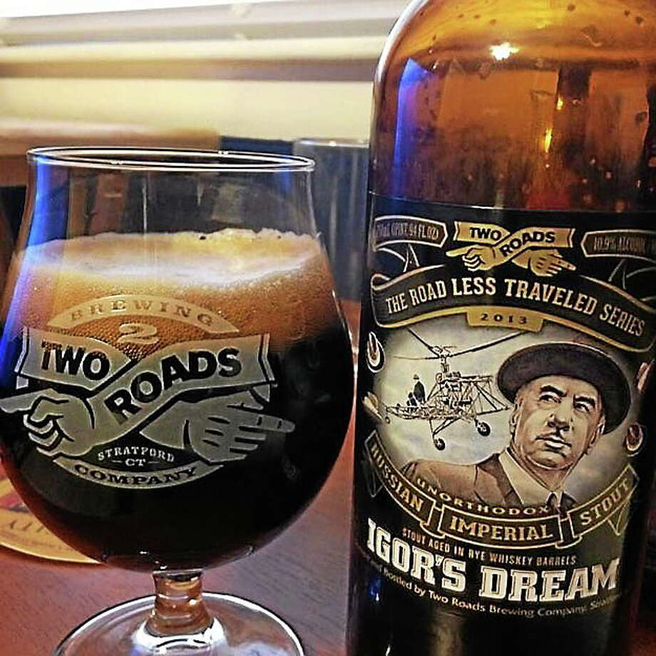 Courtesy Two Roads Brewery Two Roads Brewery Igor's Dream Photo: Journal Register Co.