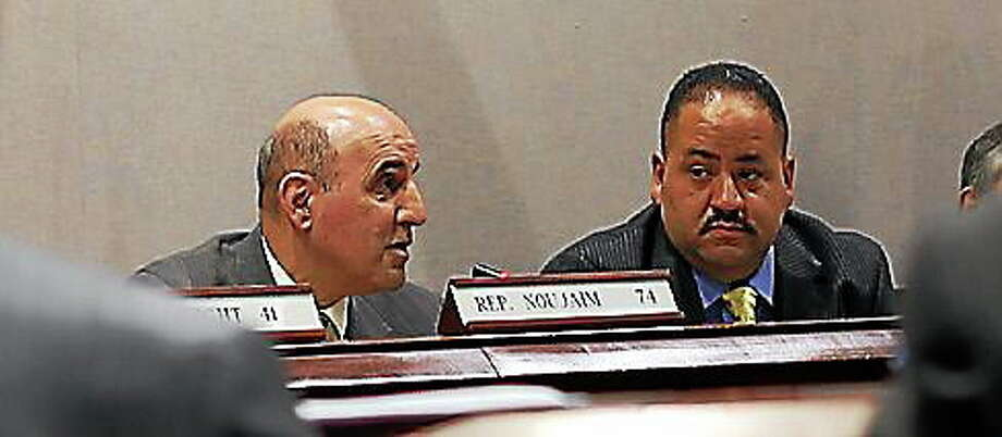 Rep. Selim Noujaim and Sen. Andres Ayala. Photo: Christine Stuart — CT News Junkie