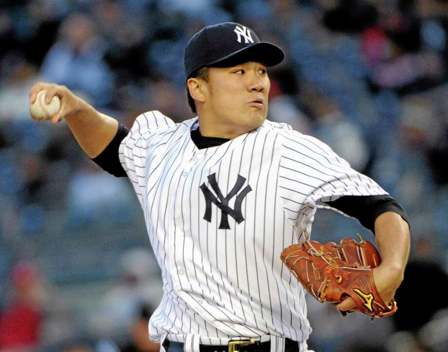 New York Yankees' Masahiro Tanaka. Photo: Bill Kostroun — The Associated Press  / FR51951 AP