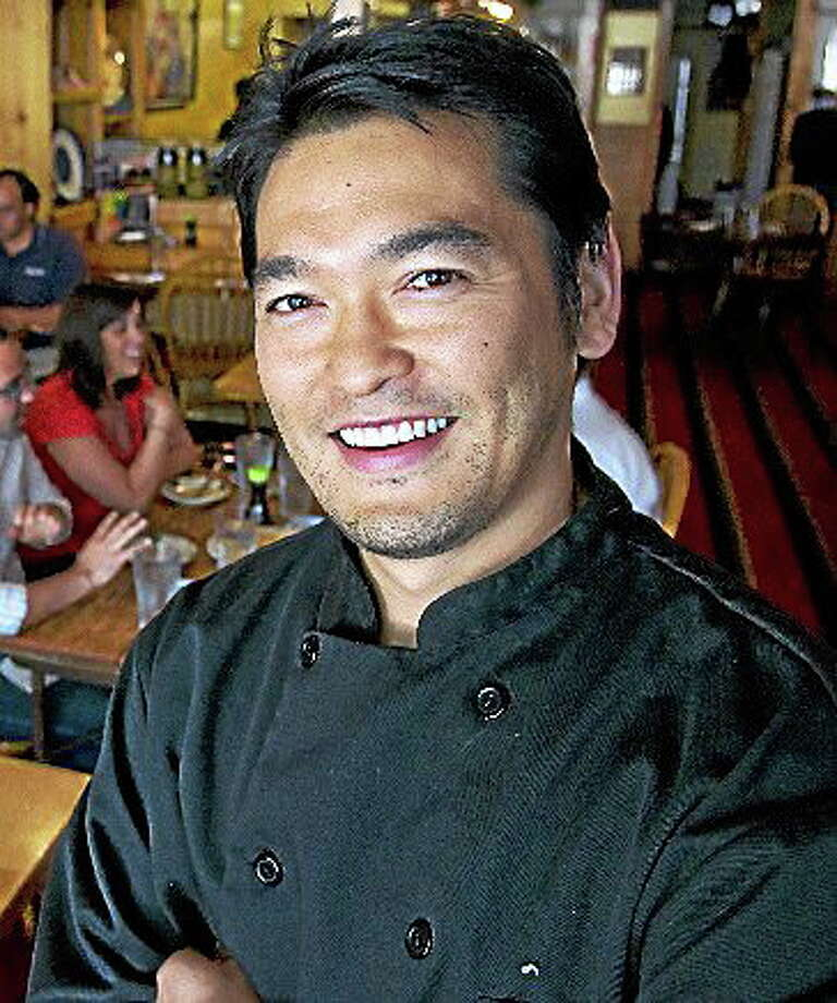 Bun Lai, a renowned chef known for his green and sustainable cooking, will be coming to Middlesex Community College on May 13. Photo: Journal Register Co.