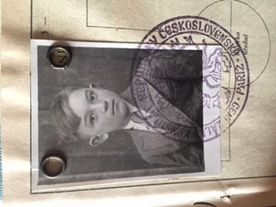 Frank Herman, age 13, in his immigration photo from Ellis Island. (Provided)