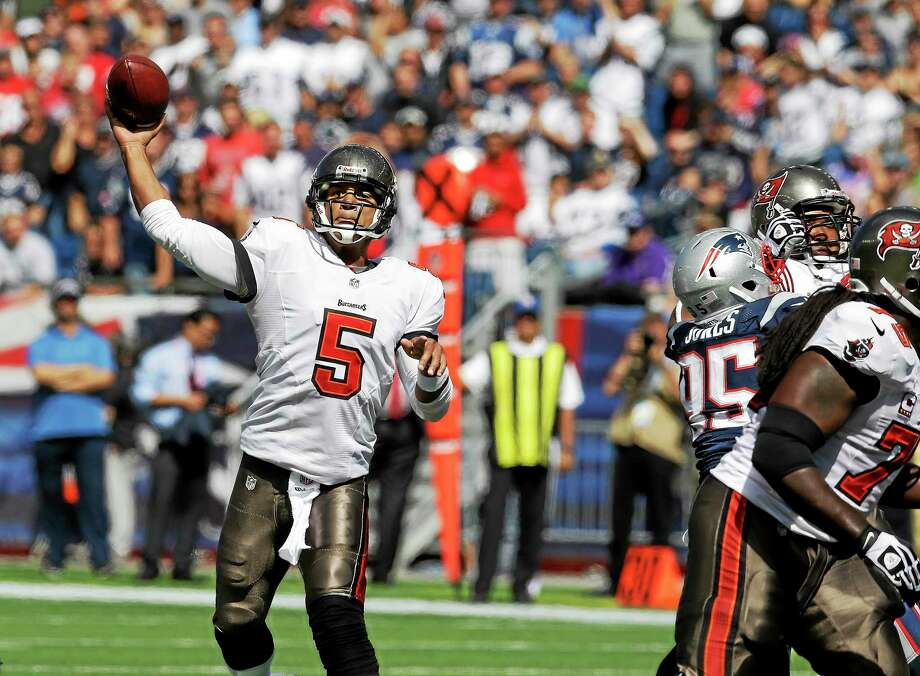 Former Tampa Bay Buccaneers quarterback Josh Freeman has signed with the New York Giants. Photo: Stephan Savoia — The Associated Press  / AP