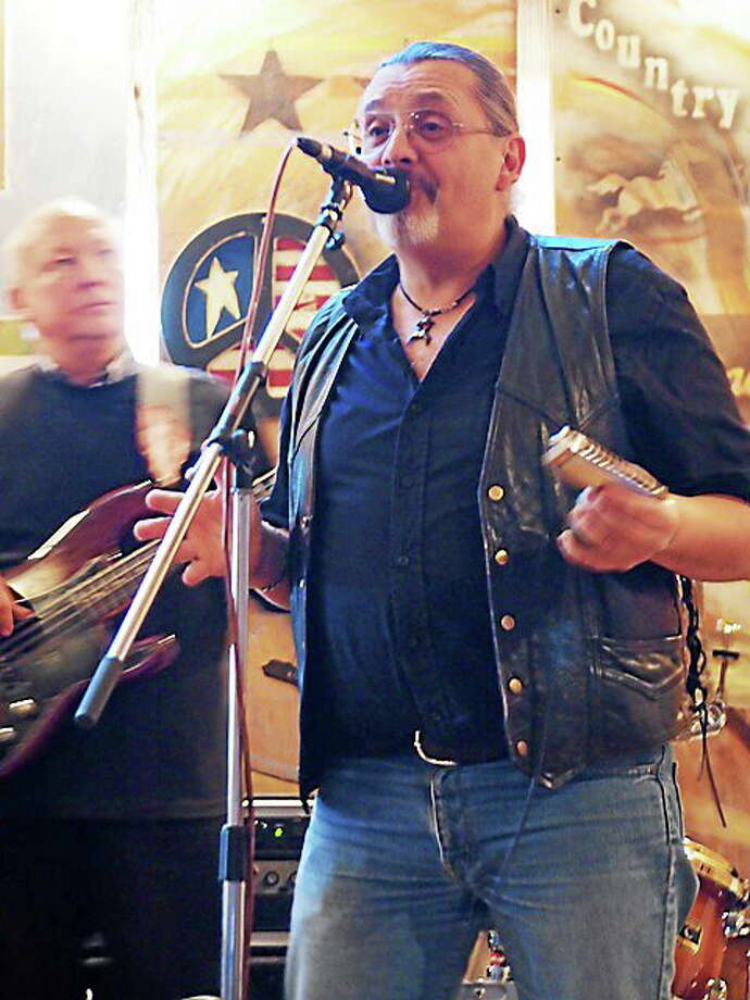 Photo by Dom Forcella Rich Badowski leads his band into the Blues Challenge. Photo: Journal Register Co.
