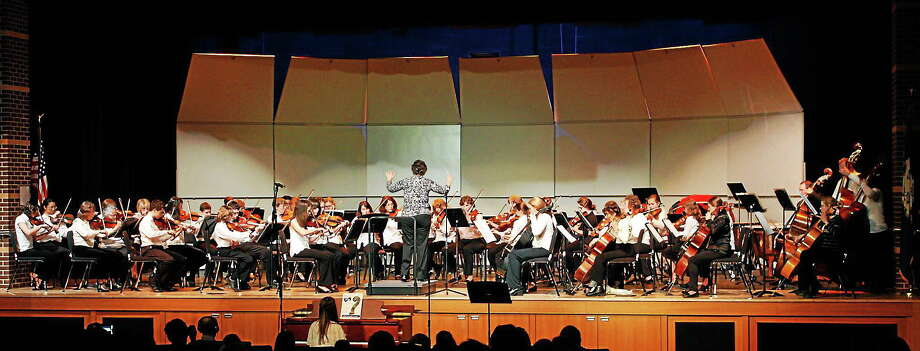 Submitted photo - Community Music School Sinfonia and Strings Ensemble are performing in a concert courtesy of the Community Music School. Photo: Journal Register Co.