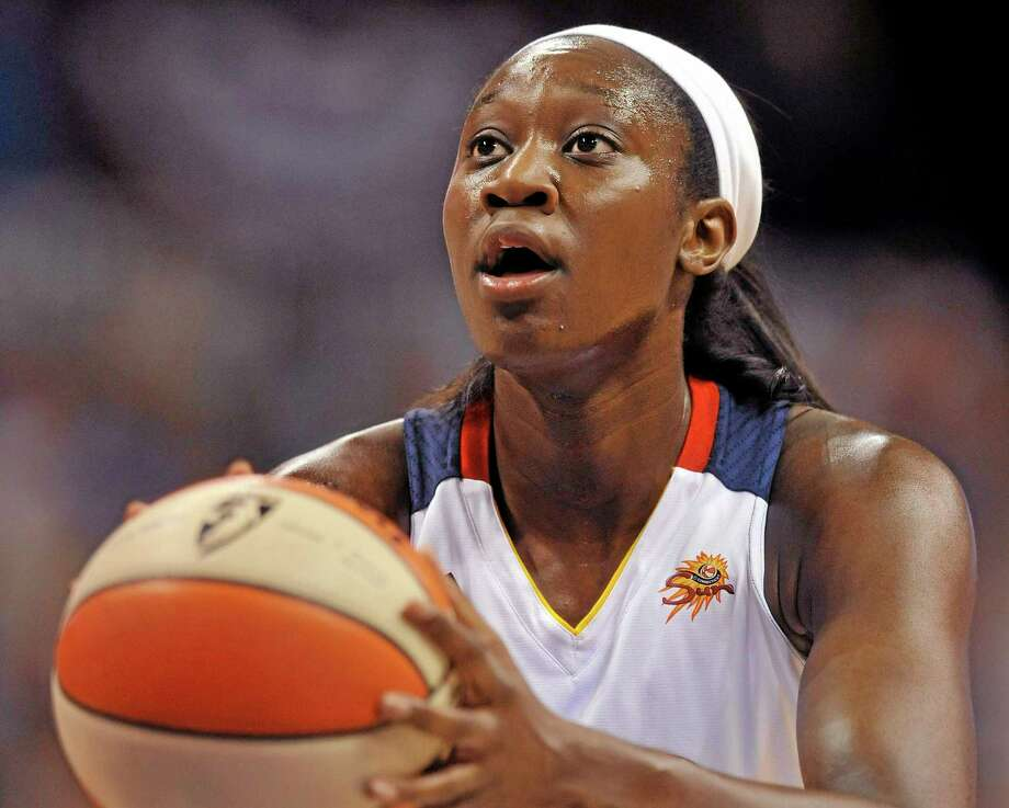 The Connecticut Sun front office says Tina Charles and the New York Liberty were in the driver's seat of the trade that sent the former UConn star back home. Photo: Jessica Hill — The Associated Press File Photo  / FR125654 AP