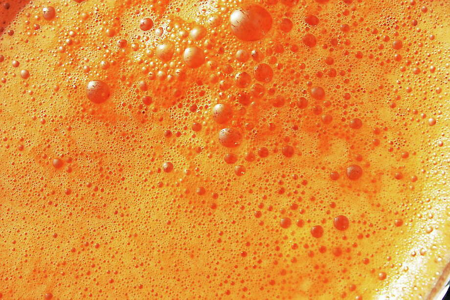 """ION's """"secret"""" carrot juice recipe. Submitted photo. Photo: Journal Register Co."""