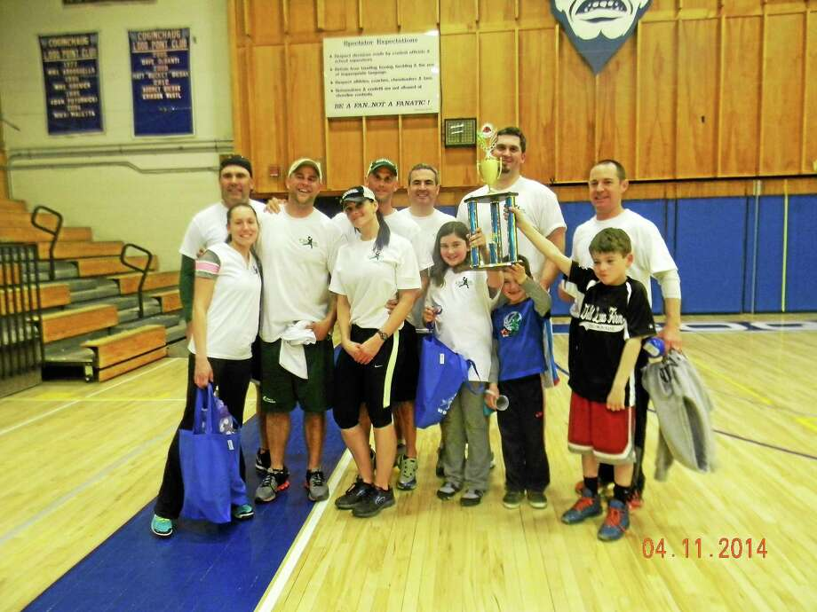 Submitted photo Coginchaug Benchwarmers Association Dodgeball Tournament Photo: Journal Register Co.