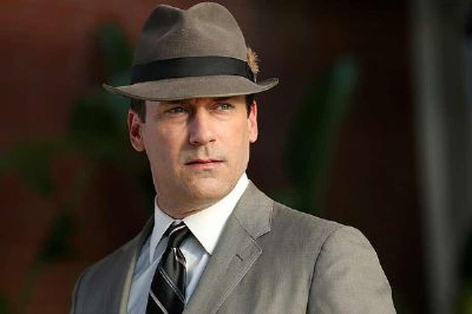 Jon Hamm as Don Draper in the 'Mad Men' season 7 premiere.