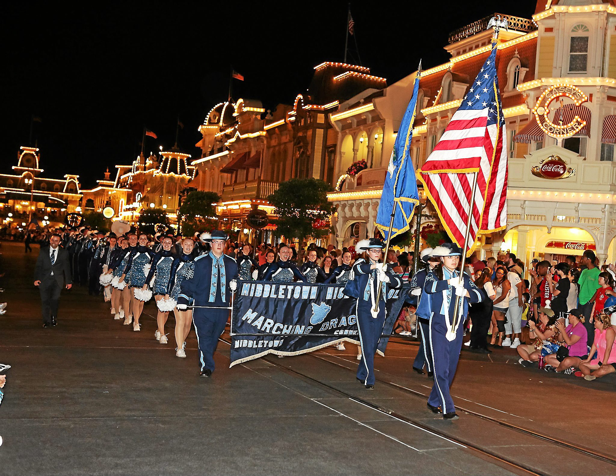 Middletown High band, chorus give electrifying performance at Disney ...