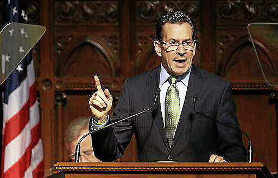 Gov. Dannel P. Malloy Photo: AP File Photo