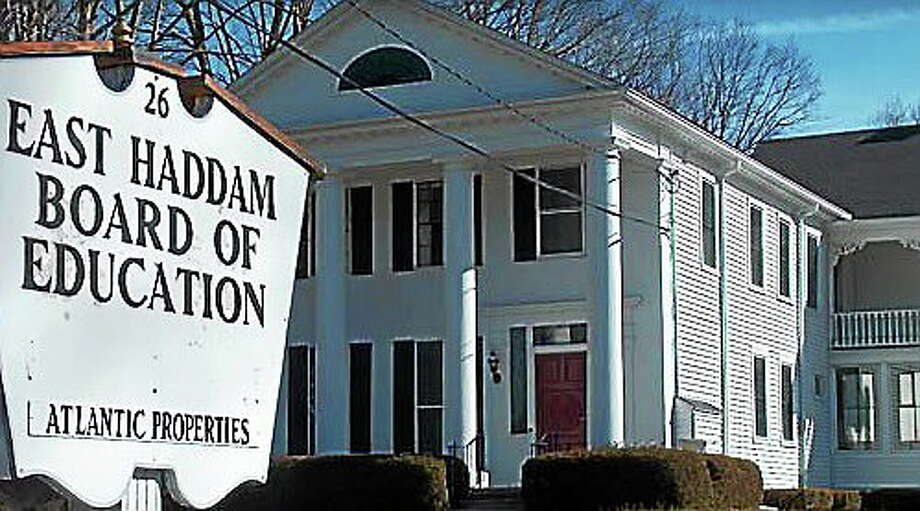 Submitted photo East Haddam Board of Education Photo: Journal Register Co.