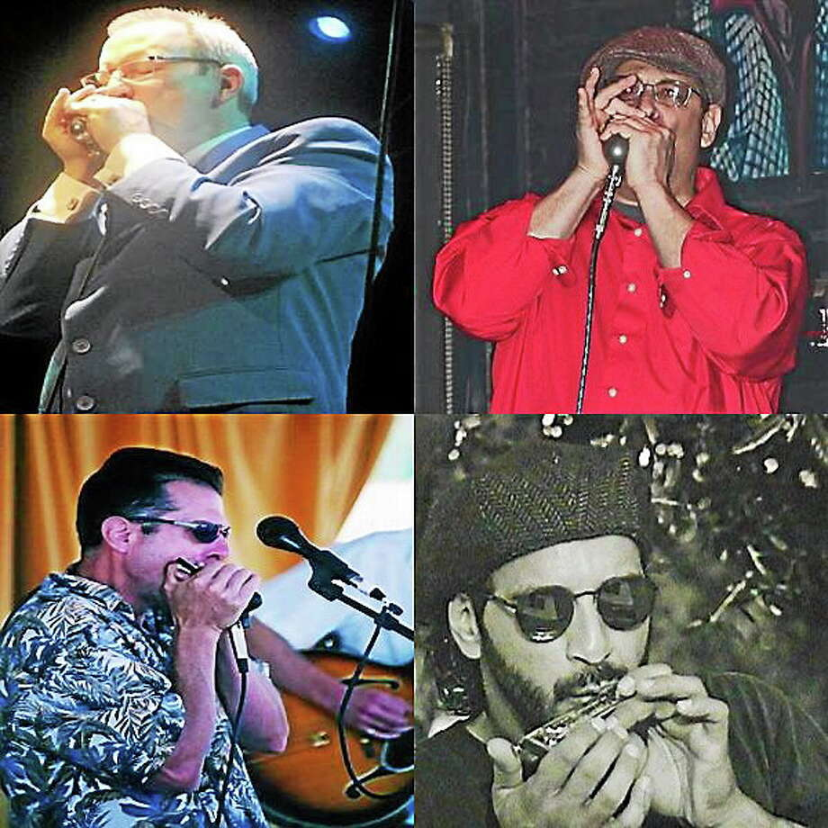 Submitted photos courtesy of the artists Northeast Harmonica Blues Showcase will feeature a collection of amazing mouth harpists. Photo: Journal Register Co.