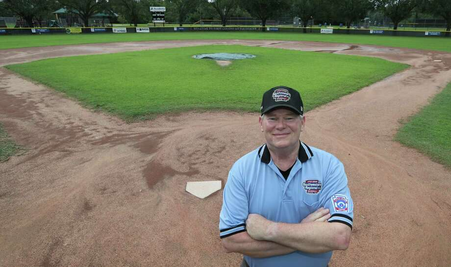 Bruce Hicks is one of only 16 umpires chosen to call games at the upcoming Little League World Series.  Photo: Steve Gonzales, Staff / © 2017 Houston Chronicle