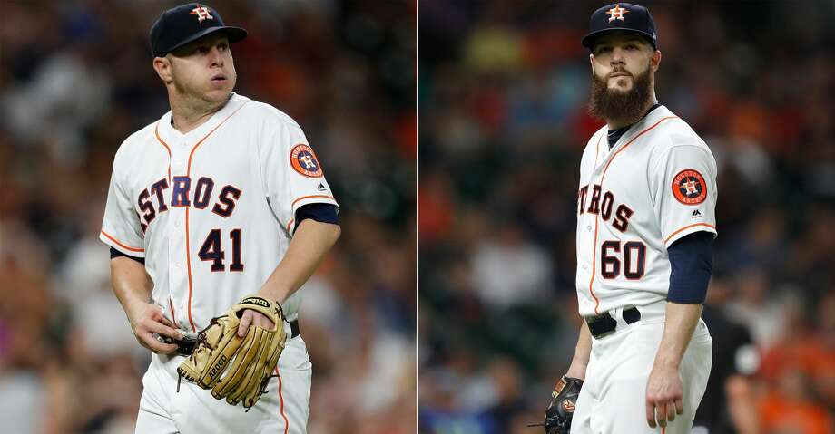 Watching the Astros lose 11 of 15 games since July 26 has shaken up the pecking order and rattled the fanbase. Photo: Karen Warren/ Houston Chronicle