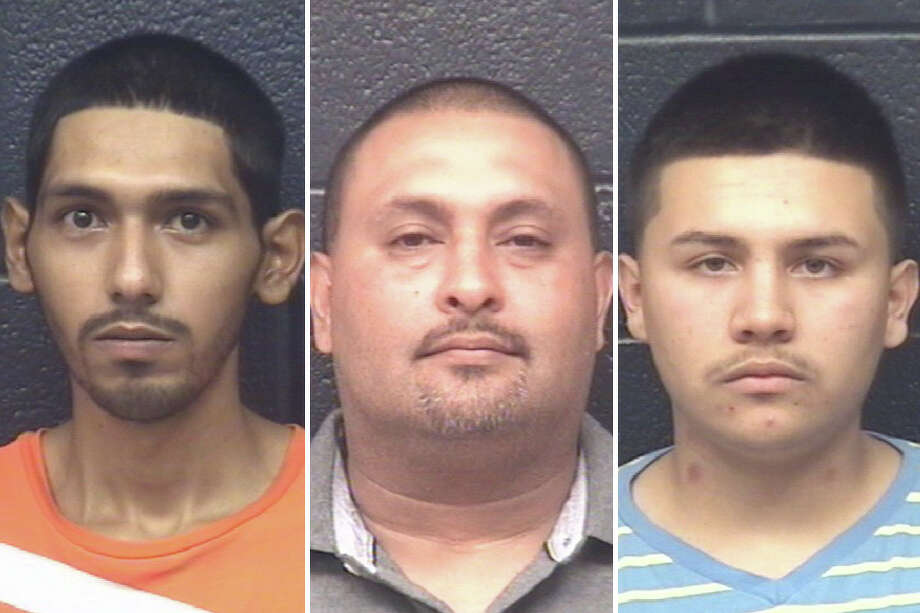 Adan Cadena, Marco Cadena, 24, and Juan David Cisneros, 24, were charged with two counts of manufacture, delivery of a controlled substance and one count of engaging in organized criminal activity. Photo: Courtesy Photo