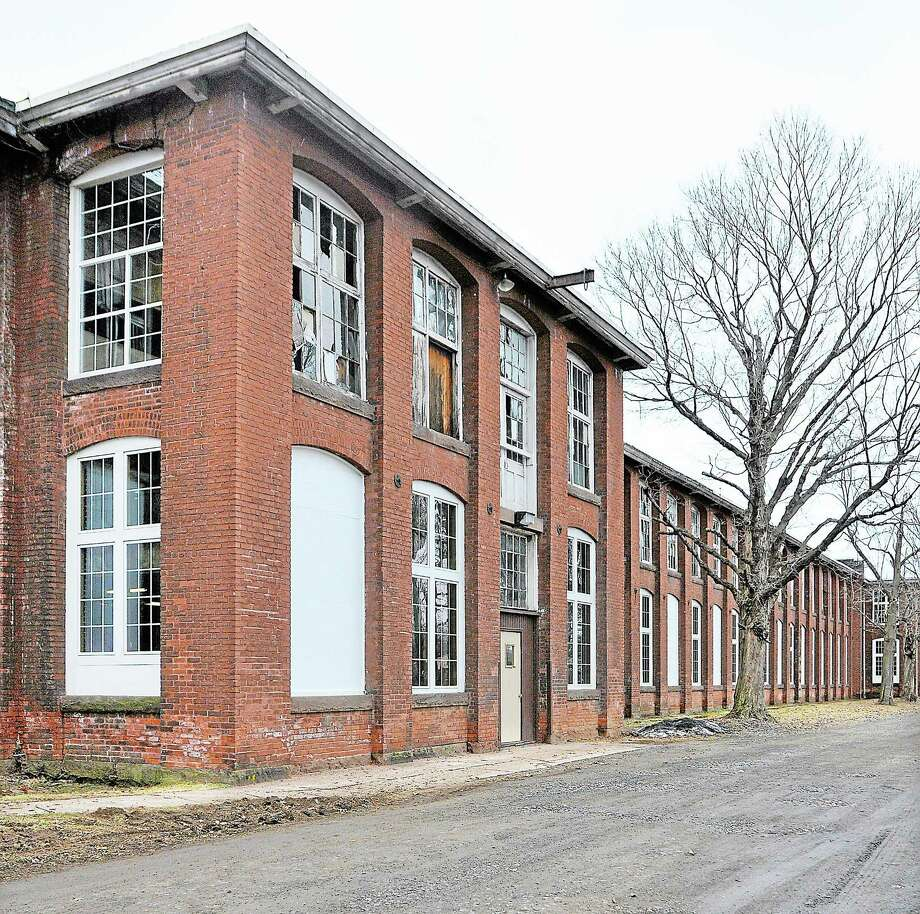 The Remington Rand Building at 180 Johnson Street in Middletown. Photo: Catherine Avalone/The Middletown Press  / TheMiddletownPress