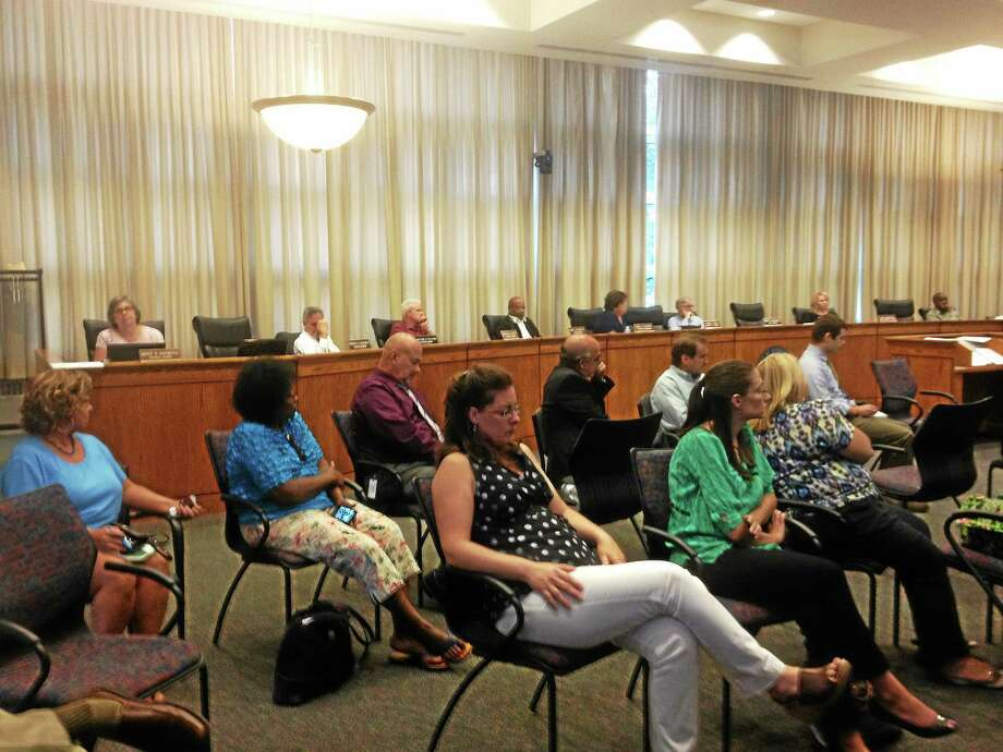 The Common Council held a workshop Monday on possible downtown development. Photo: Alex Gecan - The Middletown Press