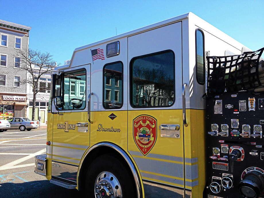 Cassandra Day / The Middletown Press ¬ Middletown Fire Department Photo: Journal Register Co.