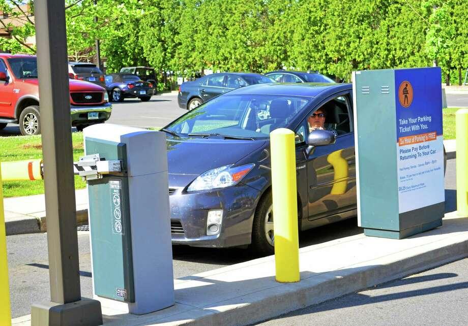 Cassandra Day - The Middletown Press Middletown's parking lot at Melilli Plaza Photo: Journal Register Co.