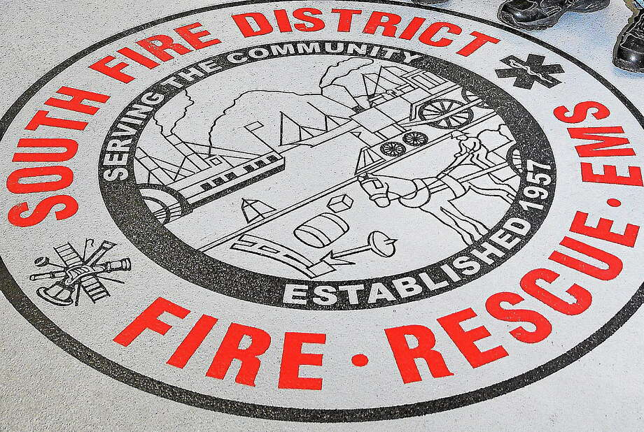 Logo of South Fire District in Middletown. Photo: Journal Register Co. / TheMiddletownPress