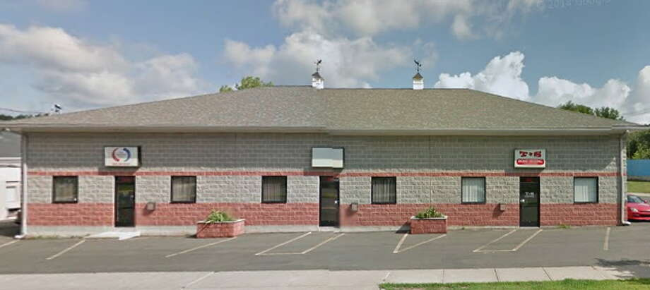 Custom Carpets is at 10 Stack Street in Middletown. Photo: Google Earth