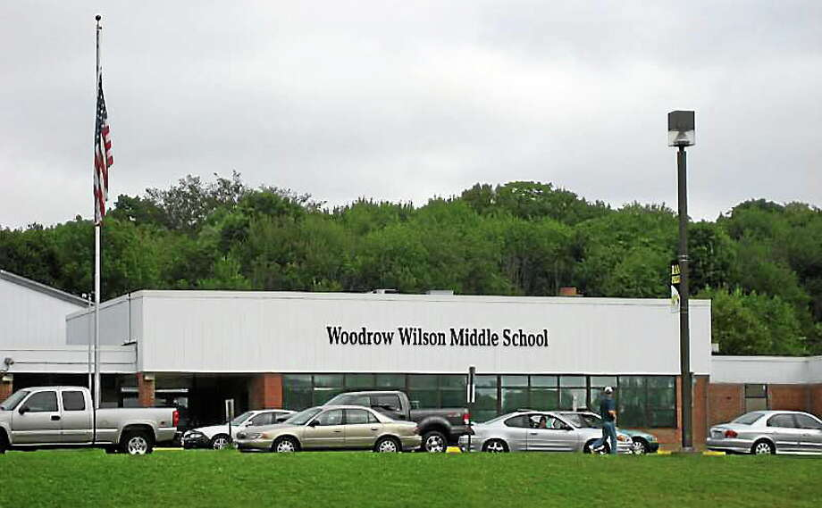 Asbestos removes will soon take place at Woodrow Wilson Middle School in Middletown, barring anyone under 18 from being in the building. Photo: File Photo