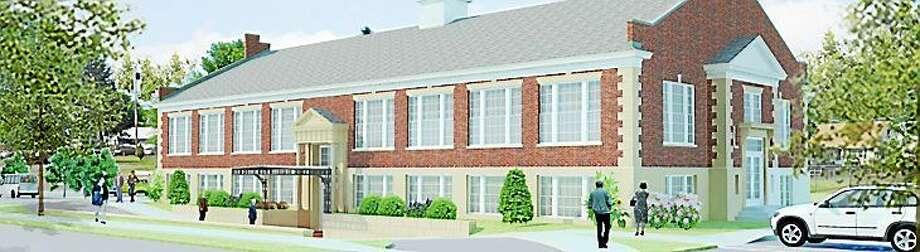 Renderings for the new Middletown Senior / Community Center Photo: File Photo