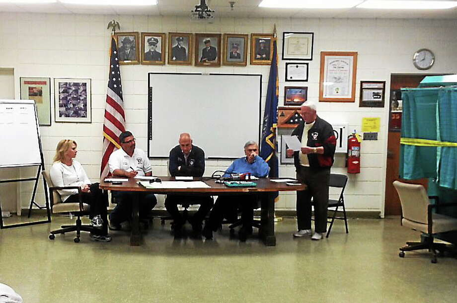 Alex Gecan - The Middletown Press Middletown's $4.997 million South Fire budget narrowly passed Tuesday night by 518 to 473 in a 45-vote spread. Photo: Journal Register Co.
