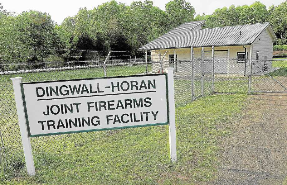 The Dingwall-Horan Joint Firearms Training Facility at 260 Meriden Road on the Middletown-Middlefield border. Photo: Catherine Avalone — The Middletown Press  / TheMiddletownPress