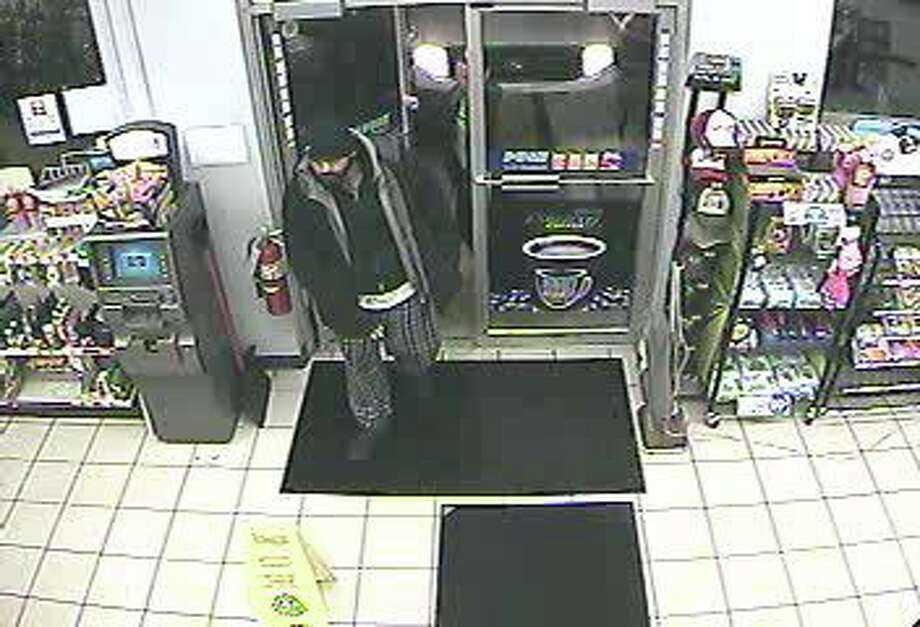 Police are also looking for this man after an early morning robbery at the Valero gas station in Durham. He is believed to be an accomplice. ¬ Submitted photo. Photo: Journal Register Co.