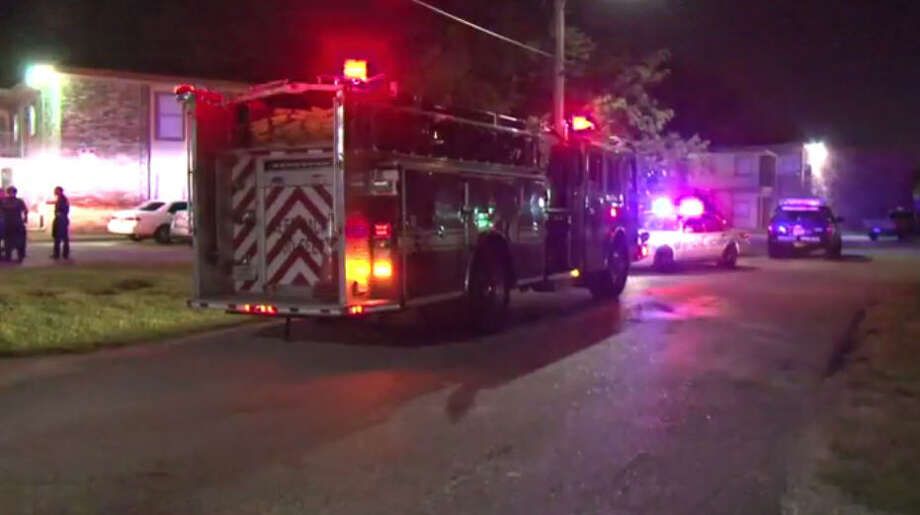 A man was shot twice in north Houston overnight. Photo: Metro Video