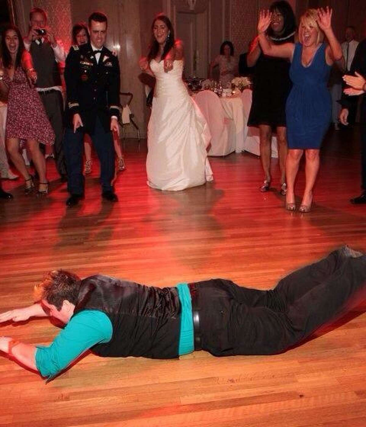 1. My signature dance move at weddings (or any event really) is the