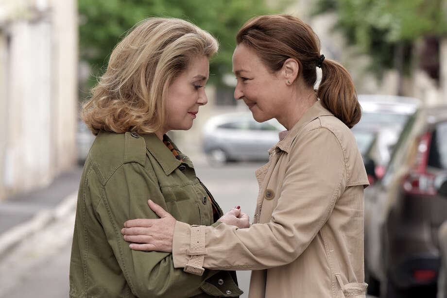 "Catherine Deneuve, left, and Catherine Frot play characters, seemingly opposites, who reconnect in ""The Midwife."" MUST CREDIT: Michaa^l Crotto, Music Box Films Photo: Michaa^l Crotto / © Michaa^l Crotto/Courtesy of Music Box Films"
