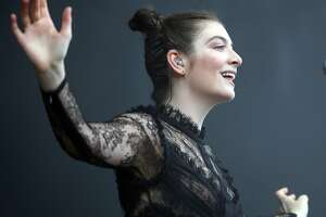 Lorde performs during Day 3 of Outside Lands in Golden Gate Park in San Francisco, Calif. on Sunday, August 13, 2017.
