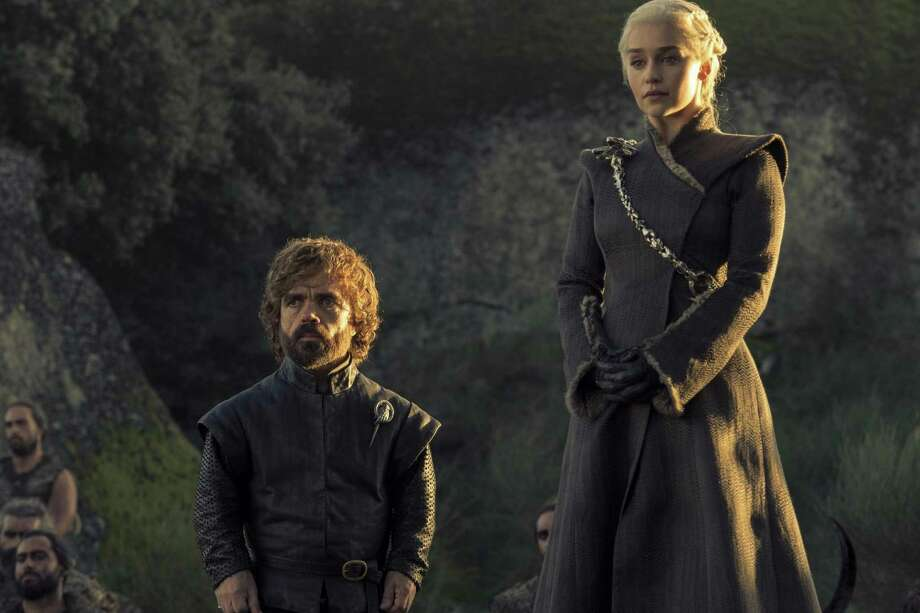 Peter Dinklage and Emilia Clarke, Game of Thrones