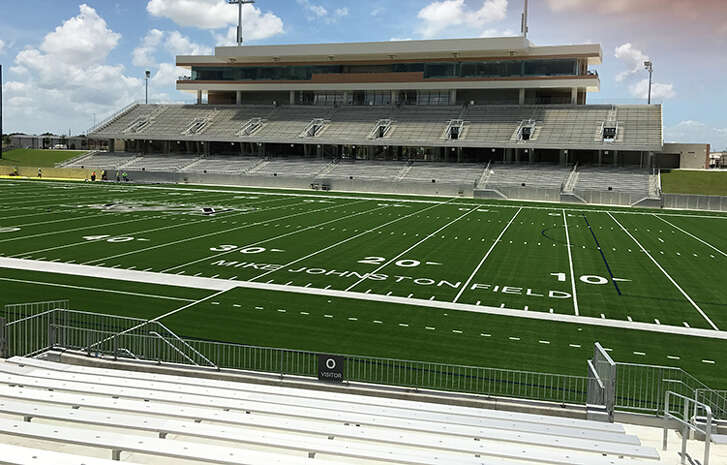A look at Katy ISD's Legacy Stadium, which cost $70.3 million to complete. The stadium will host its first varsity football game on Thursday, Aug. 31, 2017 when Katy Taylor plays Foster.