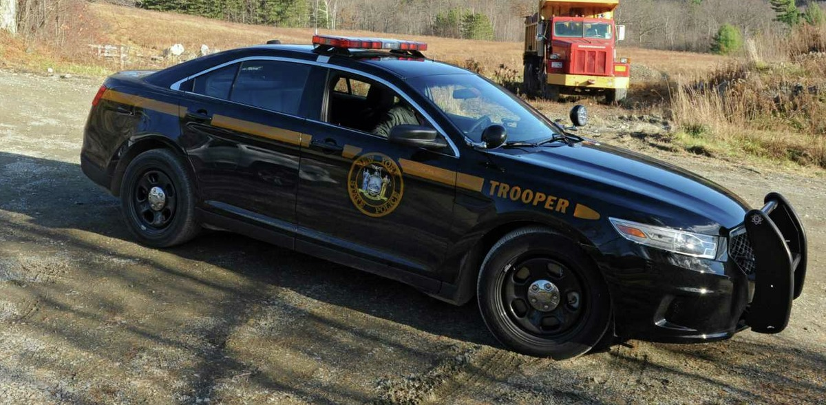 New York State Trooper vehicle
