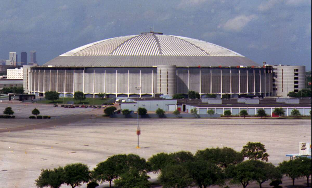 The Astrodome is shown in this April 16, 1992 file photo.