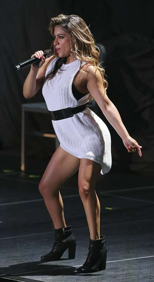 Ally Brooke will perform at St. Paul Square for The Block Party on June 8. Photo: Edward A. Ornelas, San Antonio Express-News