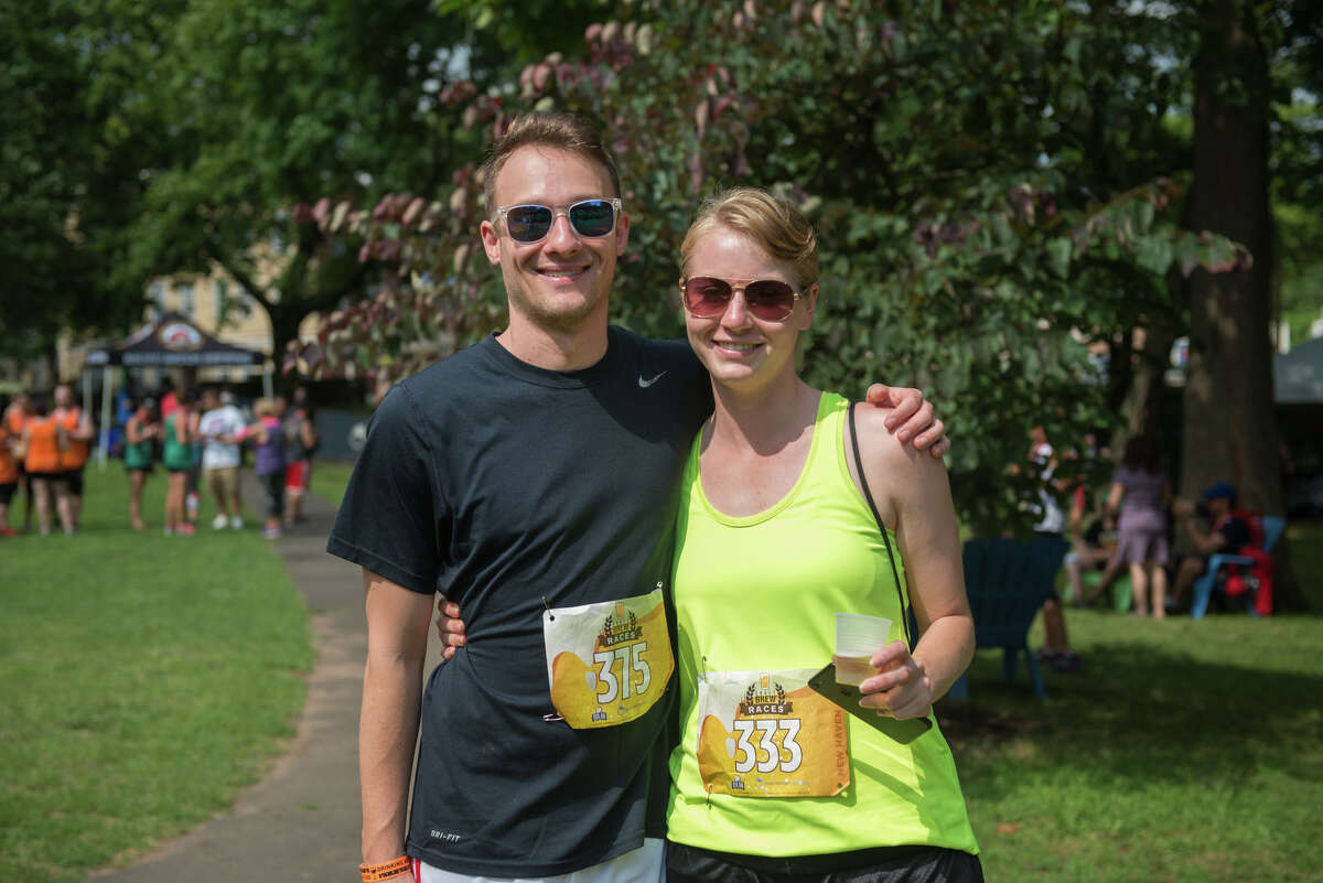 More than 900 runners, brewers, vendors and festival attendees enjoyed the Craft Brew Races 5K and beer festival in New Haven on August 5, 2017. Chris Nocera, from Stamford won the race with an elapsed time of 16 minutes and 52 seconds.