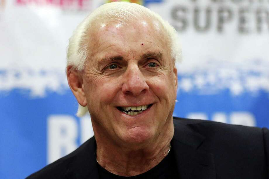 "Pro wrestling legend Ric Flair's life is the subject of ESPN's latest 30 for 30 film ""Nature Boy,"" which premiered Tuesday night. / 2016 Aaron Davidson"