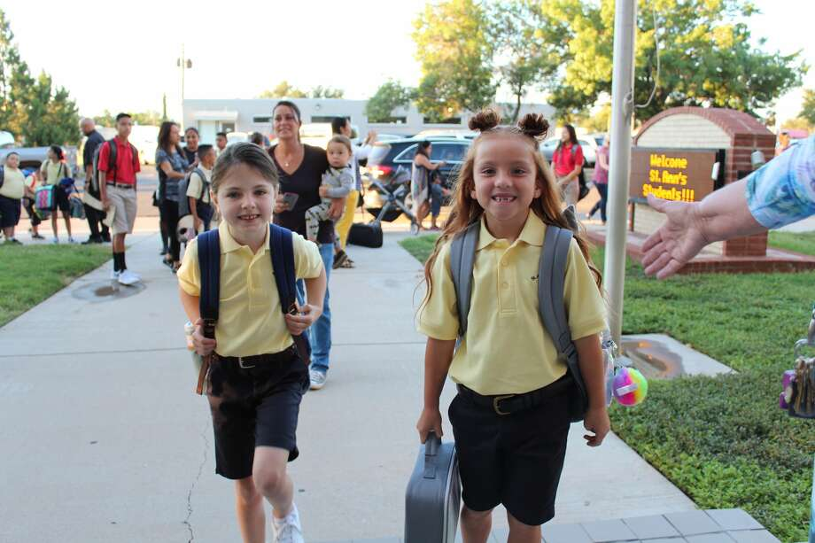 First day of school: St. Ann's Catholic School Photo: Courtesy Photo/St. Ann's Catholic School