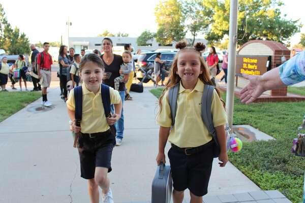 First day of school: St. Ann's Catholic School