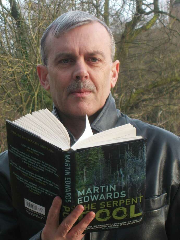 British author Martin Edwards immerses readers in his 100 favorite classic crime novels. Photo: Courtesy Photo