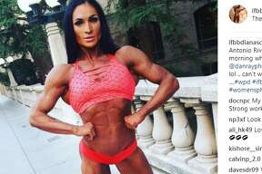 """ifbbdianaschnaidt: Little selfie from San Antonio Riverwalk bridge yesterday"""