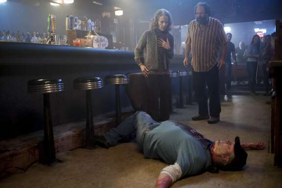 """Grace Zabriskie is a woman under the influence in """"Twin Peaks, The Return: Part 14""""."""