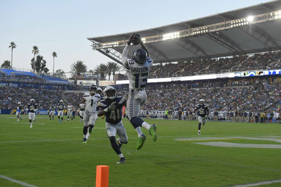 Click through the following slideshow to see what to keep your eyes on when the Seahawks meet the Chargers in Los Angeles Saturday night. Photo: Mark J. Terrill/AP